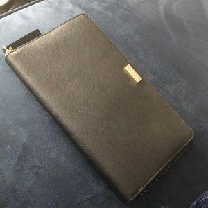 Kate Spade large black wallet